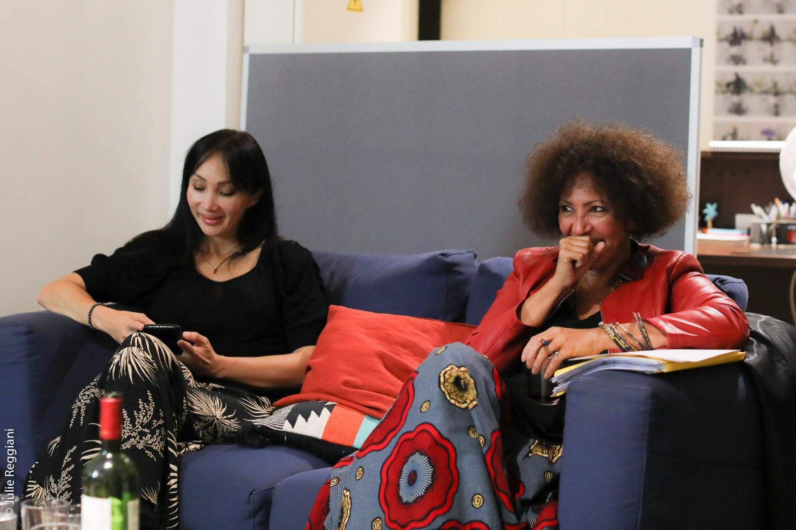 Celine Tran et Virginie Servaes à l'Atelier des Femmes Leaders