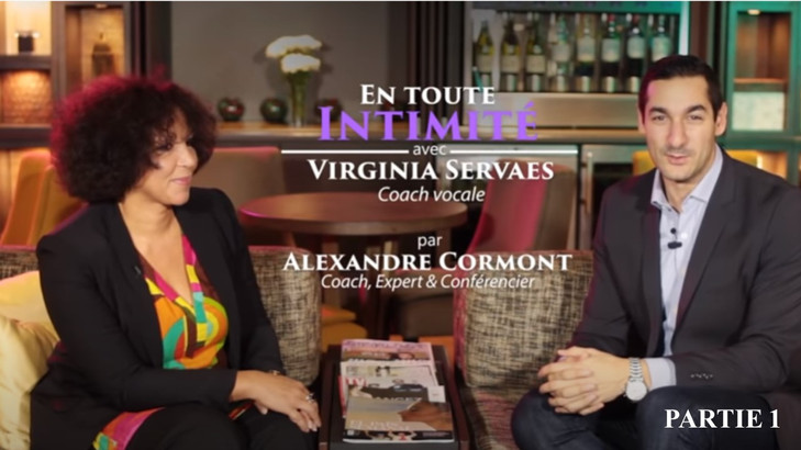 Interview de Virginie Servaes par Alexandre Cormont, coach en développement personnel (mars 2017). PARTIE 1.