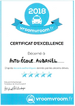 Certificat d'exellence VroomVroom.PNG