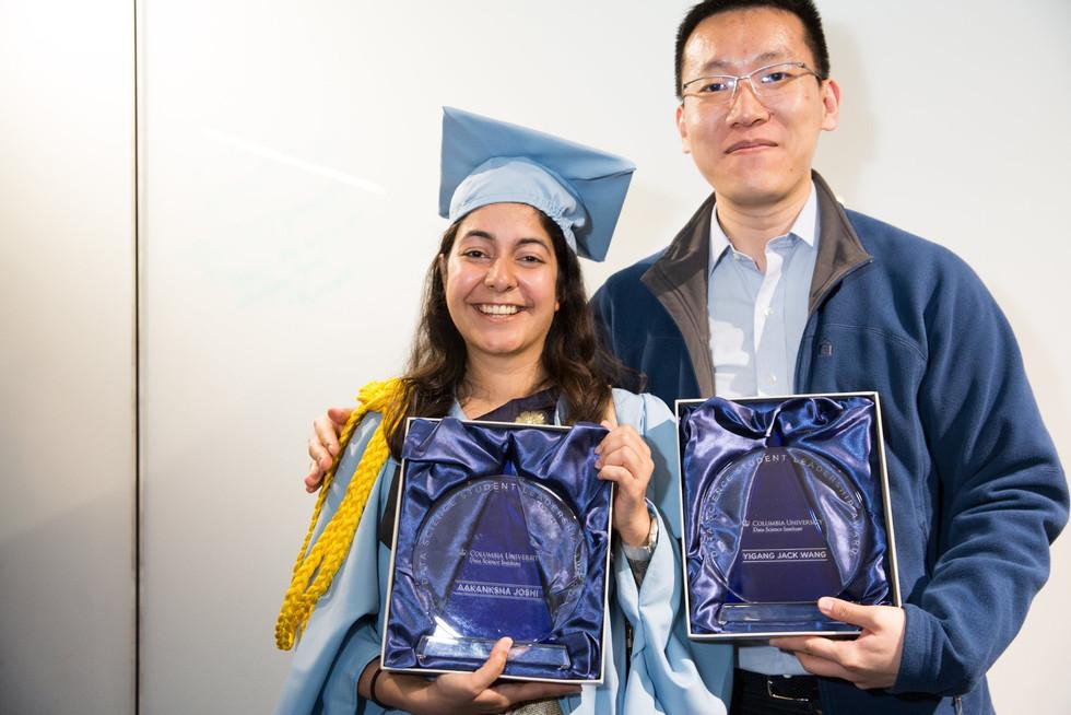 Student Leadership Award at Columbia University