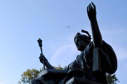 Alma Mater Statue at Columbia University