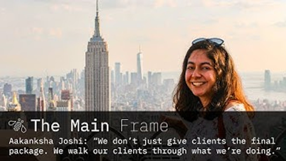 The Main Frame @ Life at IBM - My Work with the Data Science and AI Elite Team at IBM