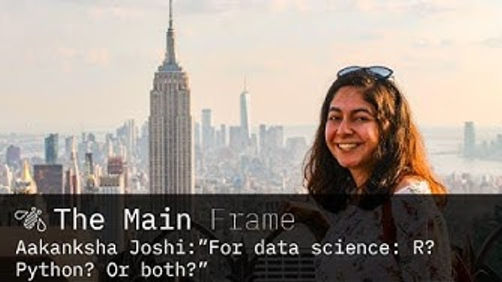 The Main Frame @ Life at IBM - Python versus R for Data Science
