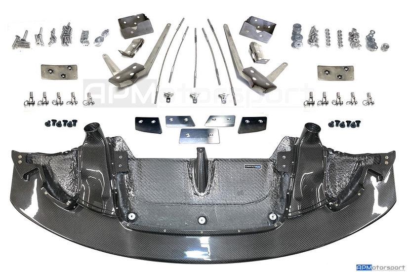 BMW M4 GT4 Carbon Front Splitter Lip - Rep