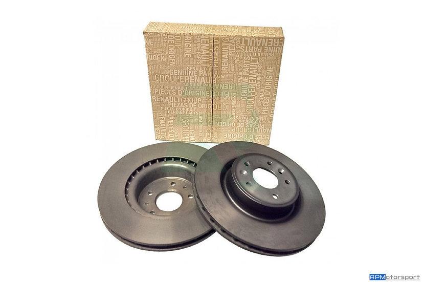 Megane 3 RS Front Discs - Plain
