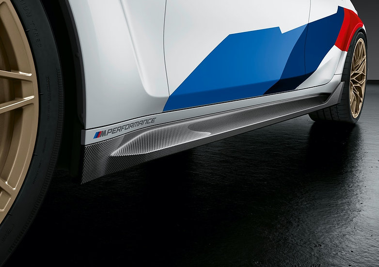 G80/ G82 M3 & M4 - M Performance Carbon Side Sill Set