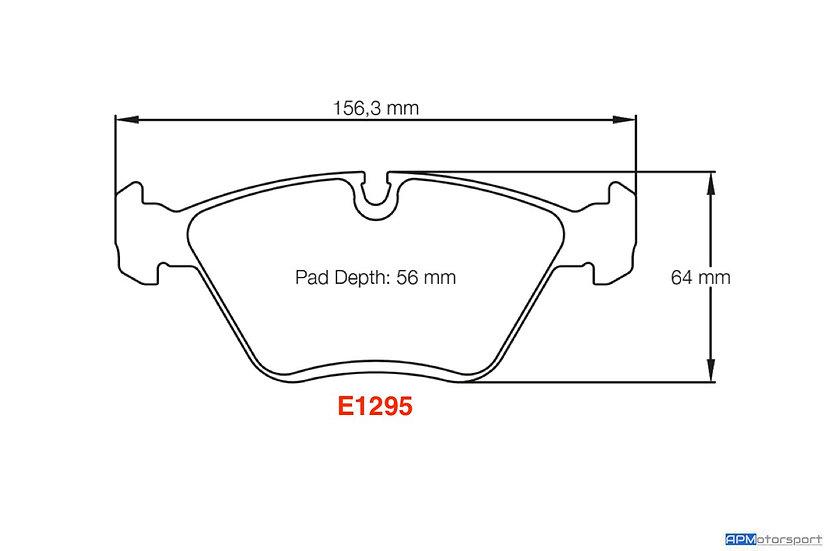 Pagid RSL29 - E1295 - E46 M3/ CSL - Front (OEM Caliper)