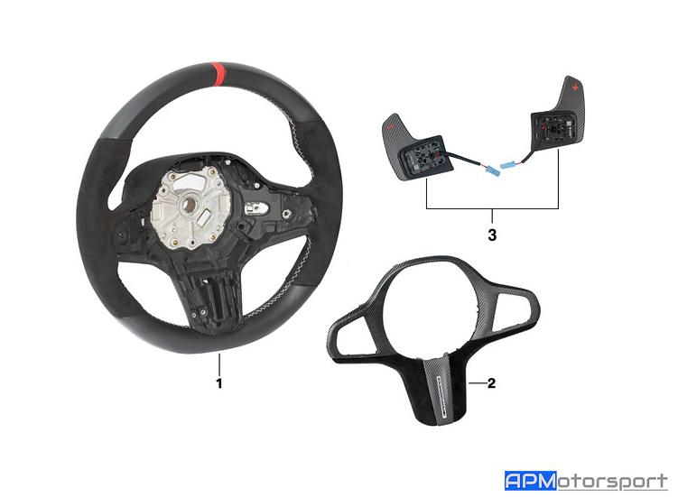 BMW M Performance Steering Wheel - F40/G20/G21/Z4 (G29)