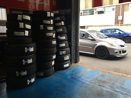 clio rs track tyres