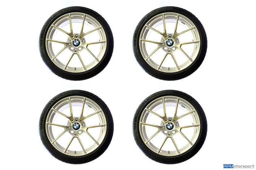 "BMW M Performance 763M Wheels & Tyres - Frozen Gold (19 & 20"")"