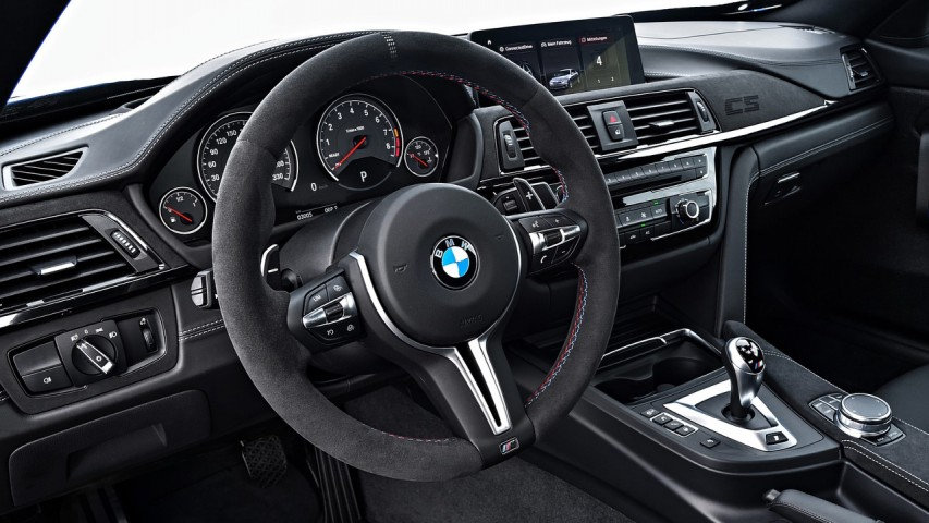 BMW M2 CS Alcantara Steering Wheel