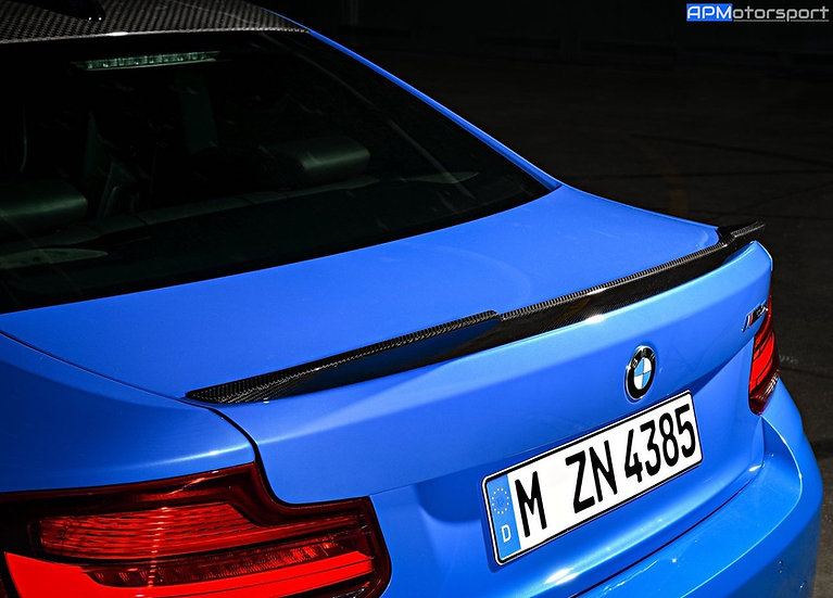 BMW M2 CS Carbon Boot Lip Spoiler