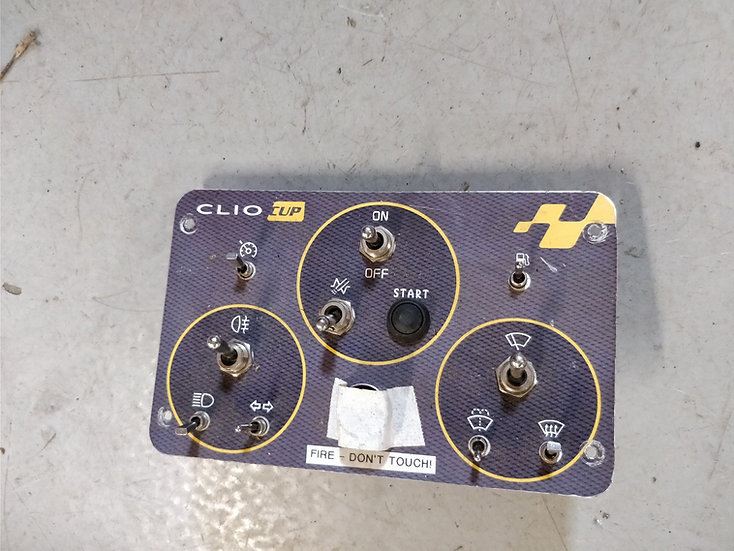 Clio III Cup Dash Switch Control Panel