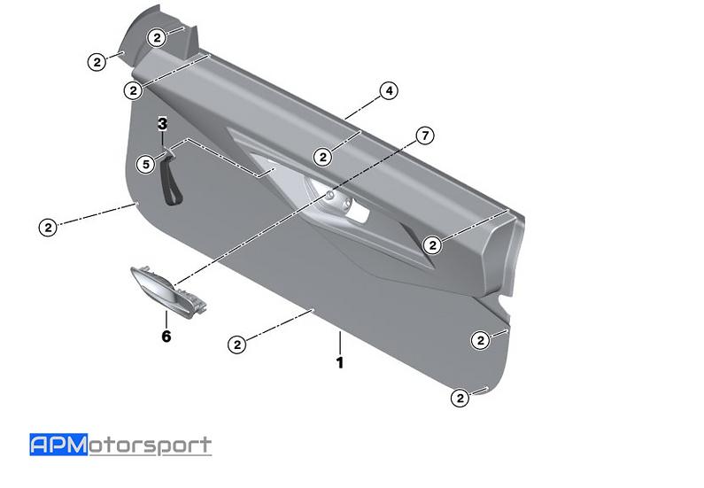 M4 GT4 Carbon Door Panels