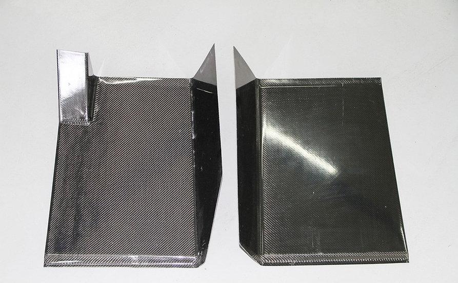 Carbon Footrest Floor Plate (Universal)