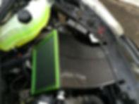 clio r3 r6 airbox carbon