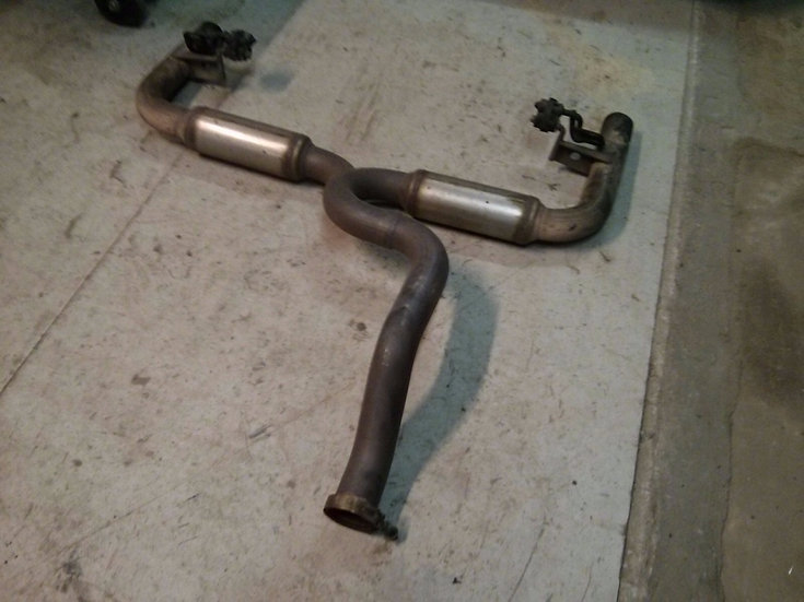 Clio 3 Cup Racer Rear Exhaust