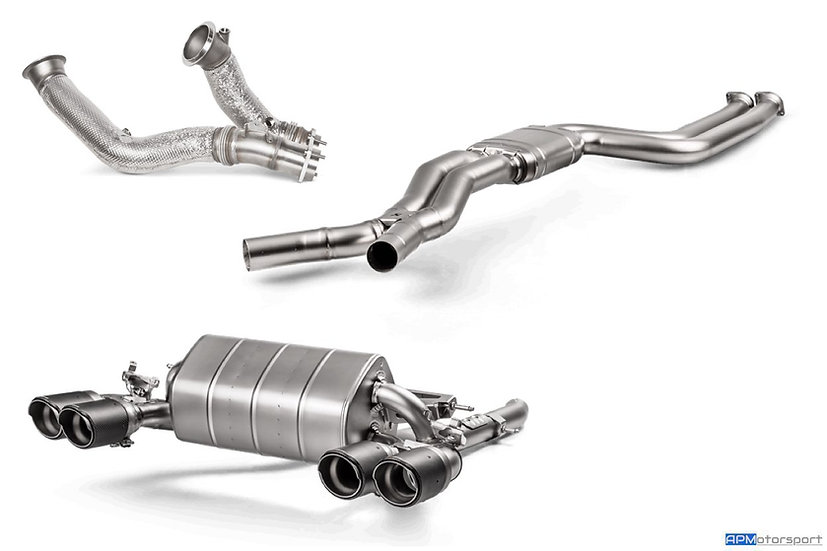 F87 M2 Competition Akrapovic Titanium Exhaust