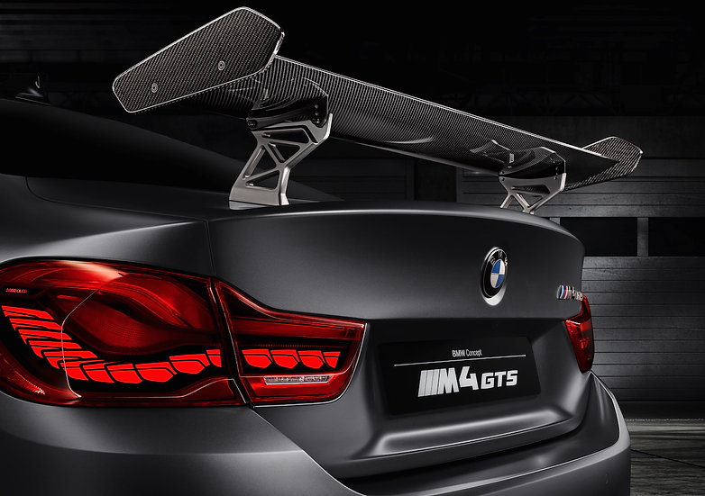 BMW M4 GTS Rear Wing