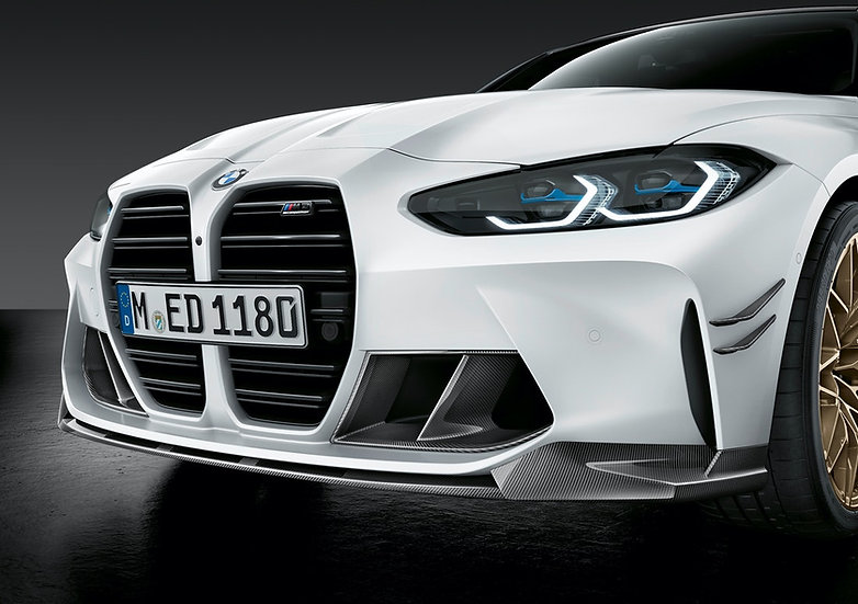 G80/ G82 M3 & M4 - M Performance Carbon Front Splitter Lip
