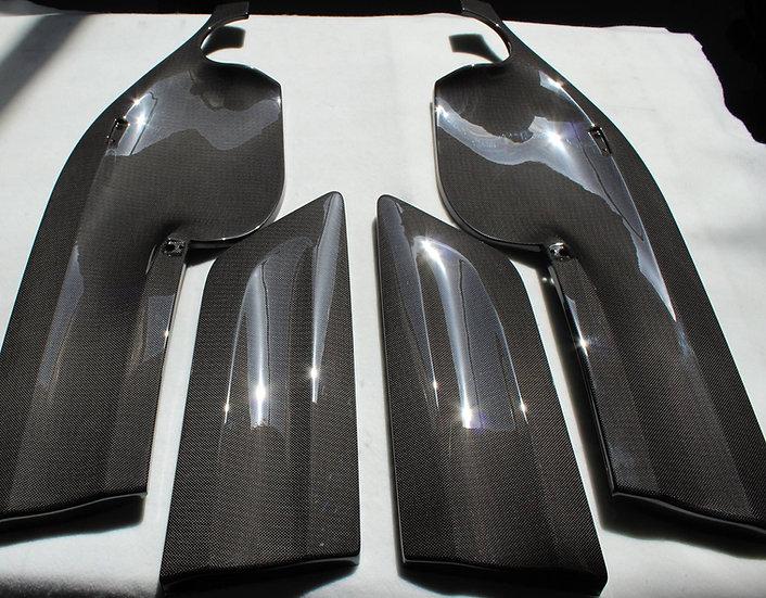 E46 M3 CSL Carbon Door Panels - Karbonius