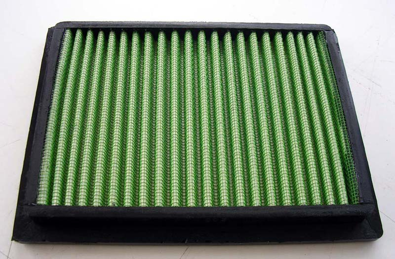 Green Cotton Race Filter - Clio V6/ R3