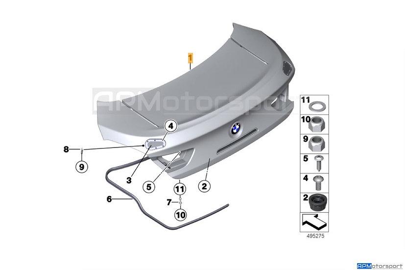 BMW M6 GT3 Rear Trunk Lid