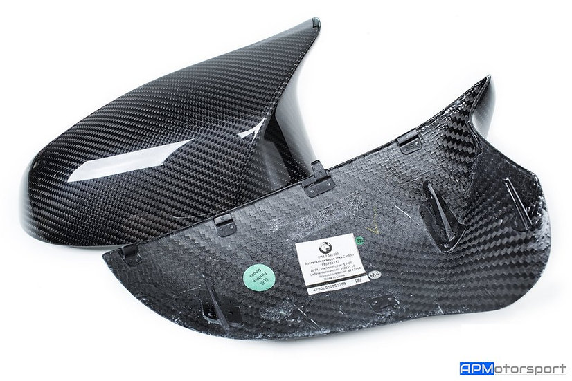 BMW M Performance F87 M2 Competition Carbon Mirror Cap Set