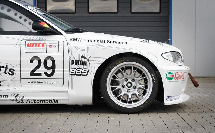 BMW Motorsport WTCC E46 BBS Wheels