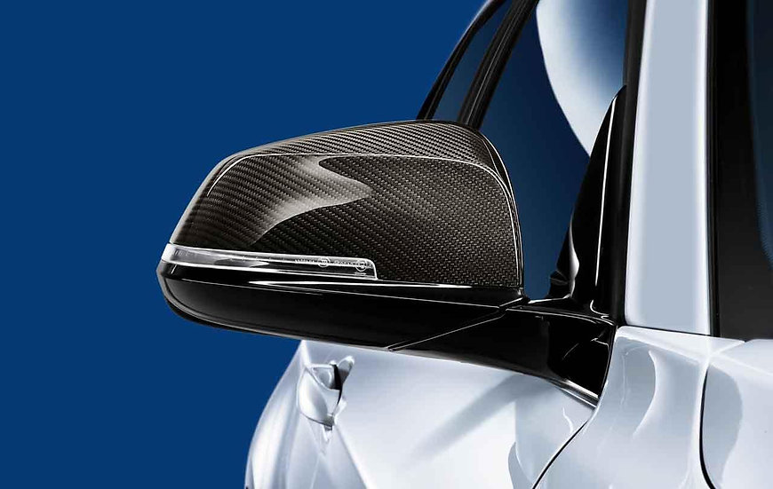 M Performance Carbon Wing Mirror Covers