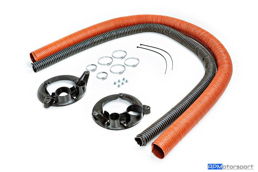 BMW M4 GT4 Brake Cooling Kit