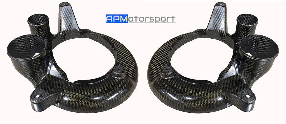 M4 GT4 Carbon Brake Cooling Plates
