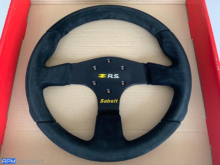 Genuine Renault Sport Sabelt Steering Wheel 330mm