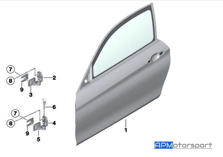 M4 GT4 Carbon Door