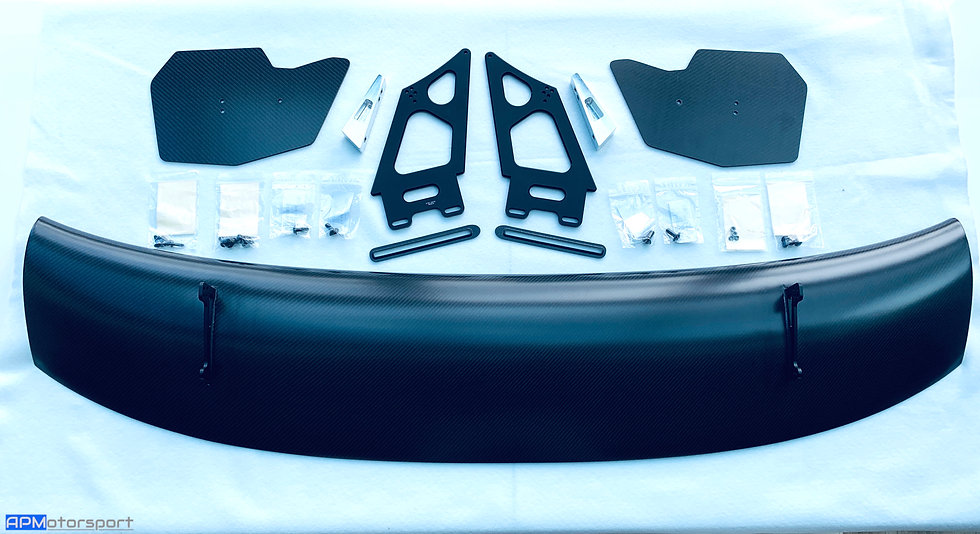 BMW M4 GT4 Carbon Rear Wing - Rep