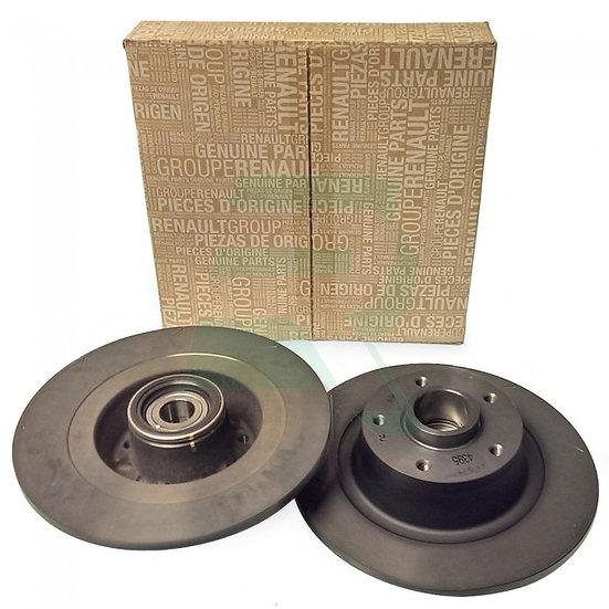 Megane 3 RS Rear Discs - Plain