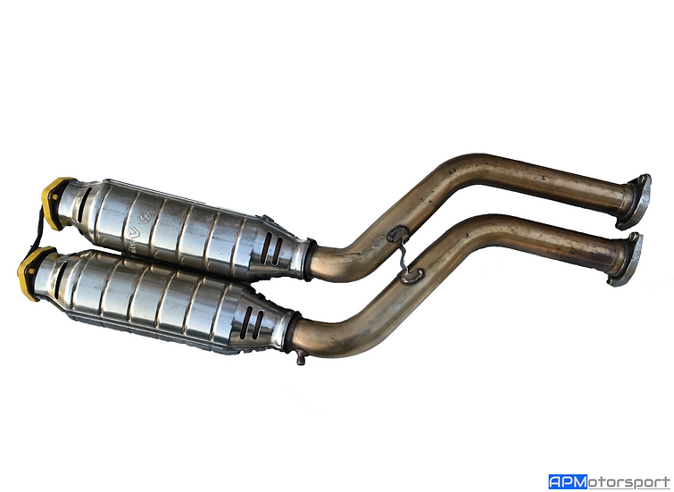 BMW E46 M3 CSL Exhaust Cats