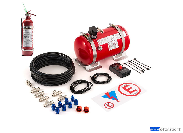 Lifeline Zero 2000 4.0ltr Electrical Fire Extinguisher Kit