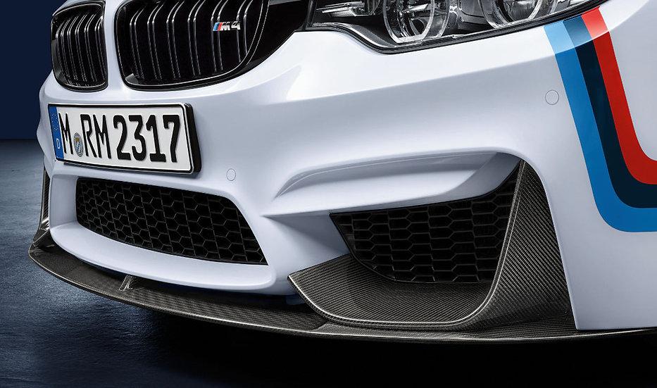 F80 M3/ F82 M4 - M Performance Carbon Front Lip & Splitters