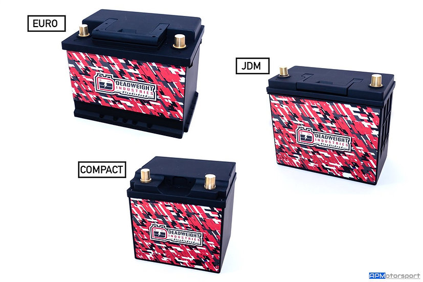 Deadweight Touge 500 - 650CCA 60ah LiFePO4 Battery