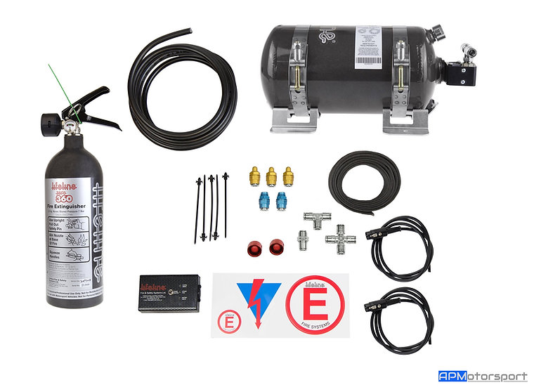 Lifeline Zero 360 3KG Electrical Fire Extinguisher Kit