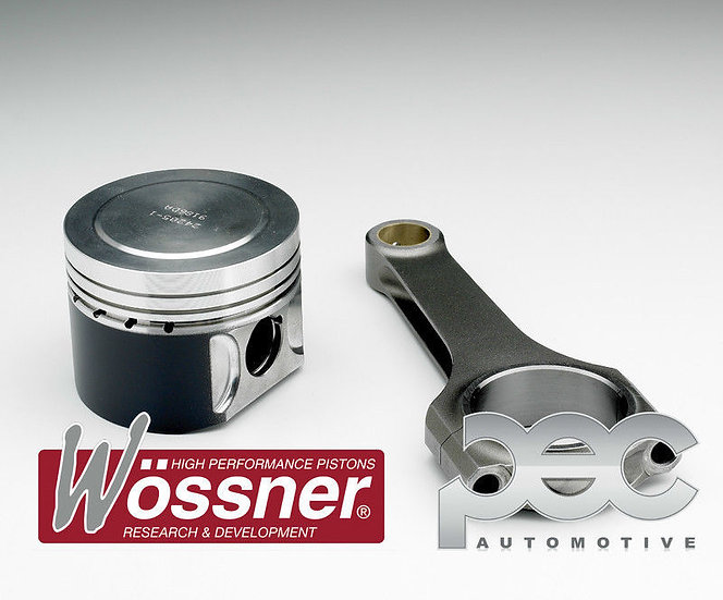 Megane 2 & 3 RS Wossner Forged Pistons & PEC Steel Conrods