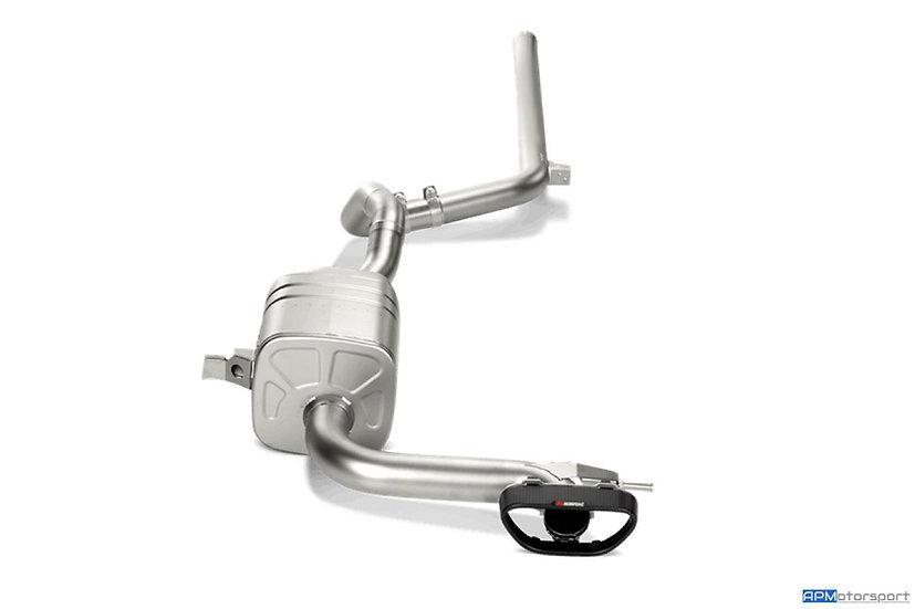 Megane 3 RS Akrapovic Titanium Exhaust
