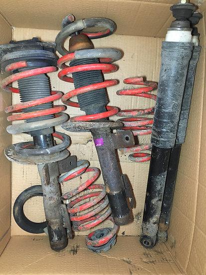 Clio 197 Sport Suspension