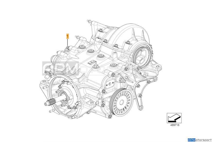BMW M6 GT3 Manual Gearbox 2018 Spec