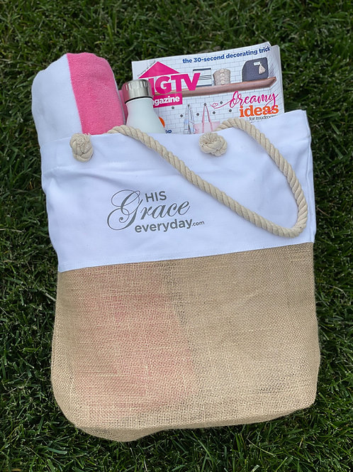 His Grace Everyday Tote