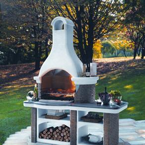 Садовая печь: виды, расположение. Устройство металлических и кирпичных конструкций