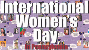 Pennsylvania Celebrates International Women's Day in Several Cities Across the State