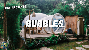 Beautiful Bubbles Around the World to Safely Stay in or out of COVID