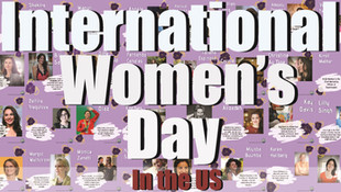 The US Celebrates International Women's Day